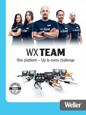Weller WX sorozatú forrasztóállomások katalógusa